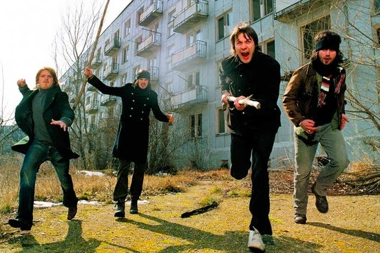 Music video by kasabian performing fire