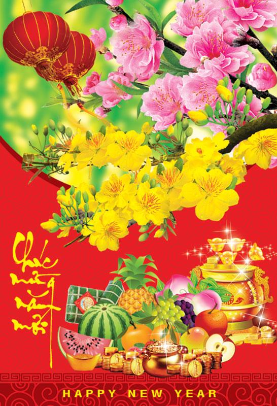 Thiệp chúc mừng năm mới đẹp và độc đáo - Hình ảnh 6