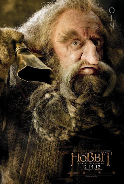 The Hobbit, character poster, oin