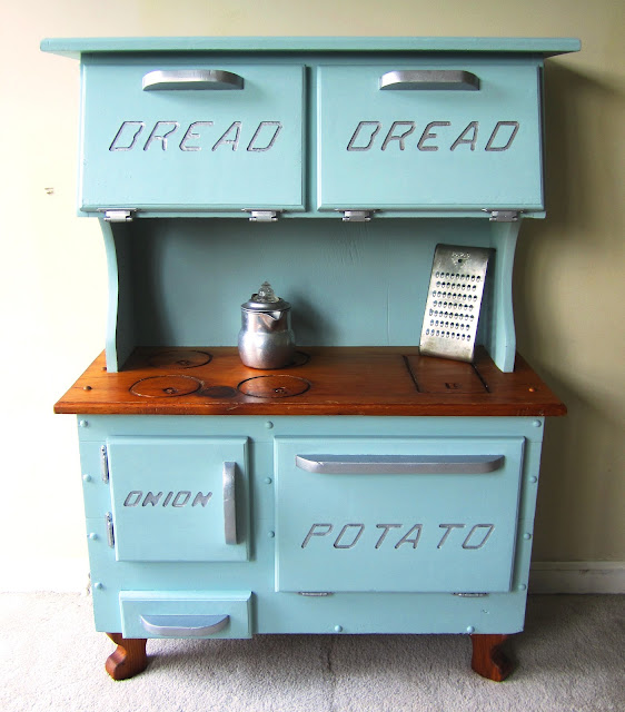Countertop Vegetable Bin : Foxglove Design: Play Kitchen / Bread Box / Potato & Onion Bin