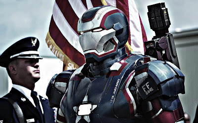 Iron Patriot Iron Man 3 Movie HD Wallpaper