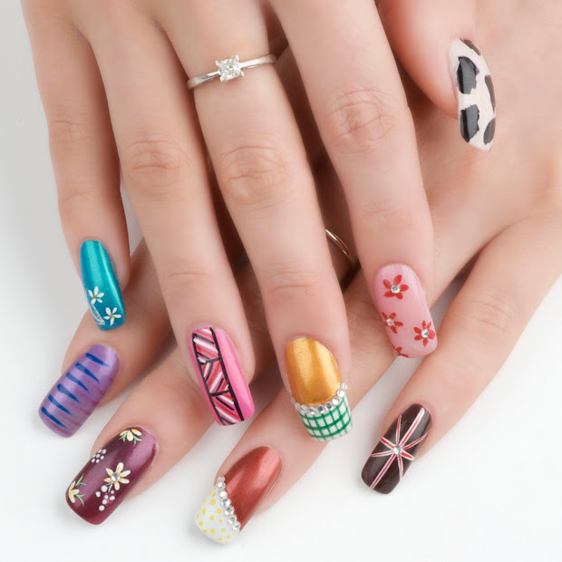 nail art pen design