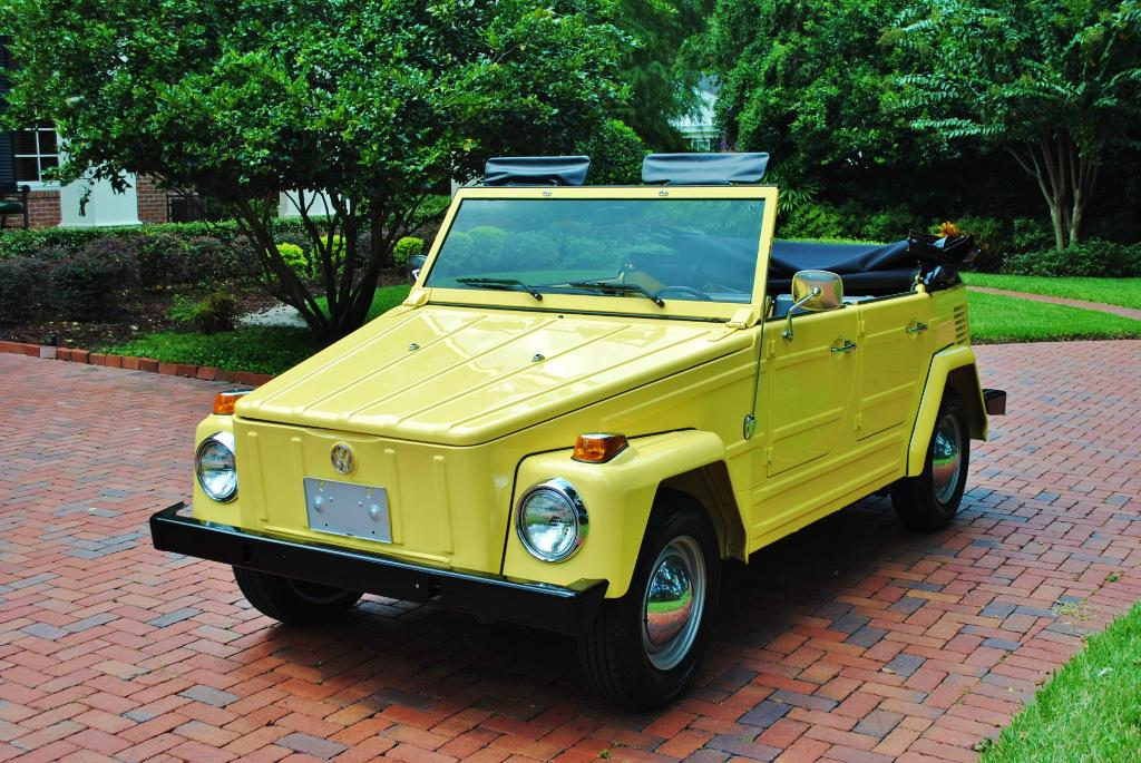 Vw Thing For Sale >> Daily Turismo: 10k: 1973 VW Thing; 1100 actual miles; Minty Clean
