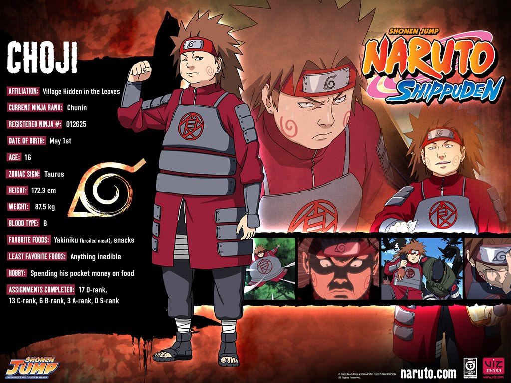 ART SKETCH Naruto Character Profile