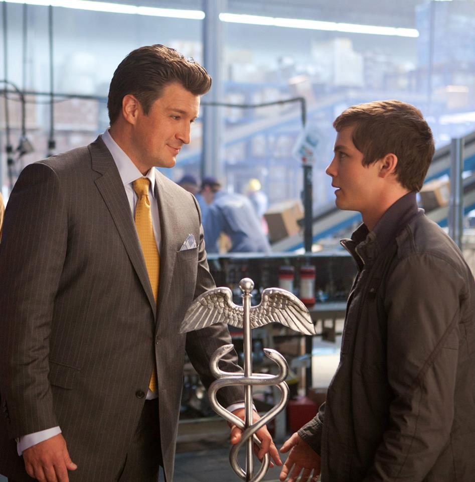 Nathan Fillion as Hermes in Percy Jackson: Sea of Monsters