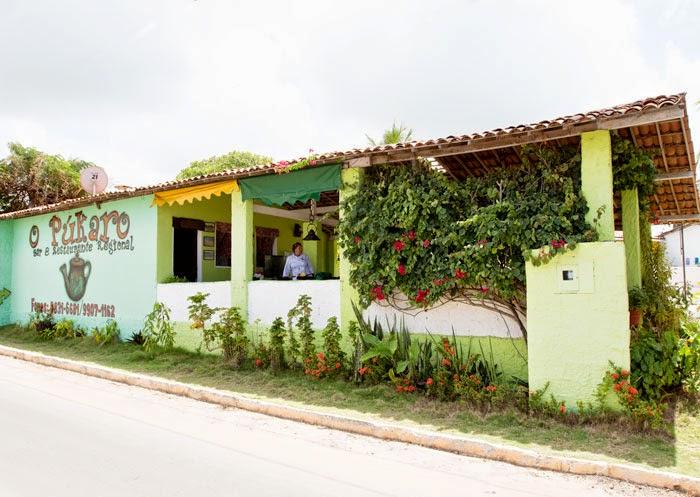 Restaurante O Púkaro, na principal de Jacumã