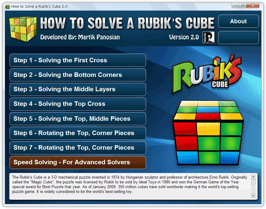 Cara-cara Menyelesaikan Permainan Rubik's Cube