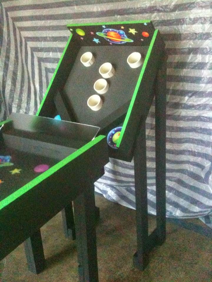 Because I M Crafty Like That My Diy Skee Ball Game