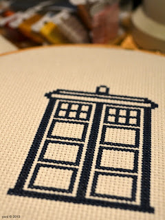 outlining the tardis