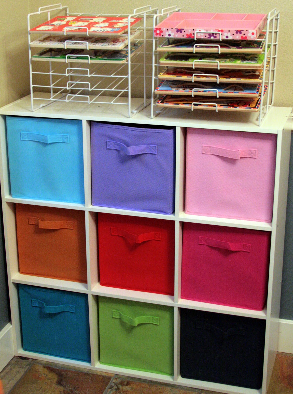 Kids Toy Storage Shelves