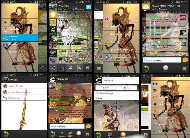 Kumpulan BBM Mod Untuk Android Terbaru