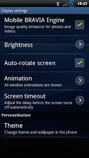 Enable Bravia Engine on Sony Xperia Play