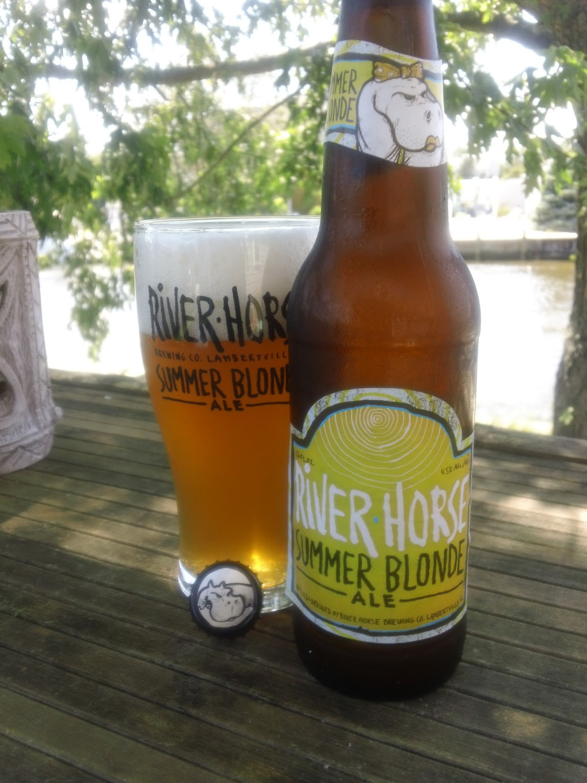 Celebrating The Suds River Horse Summer Blonde 10 Beers Of Summer