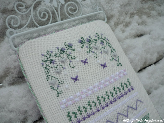 Lavender Path by Patricia Ann Designs