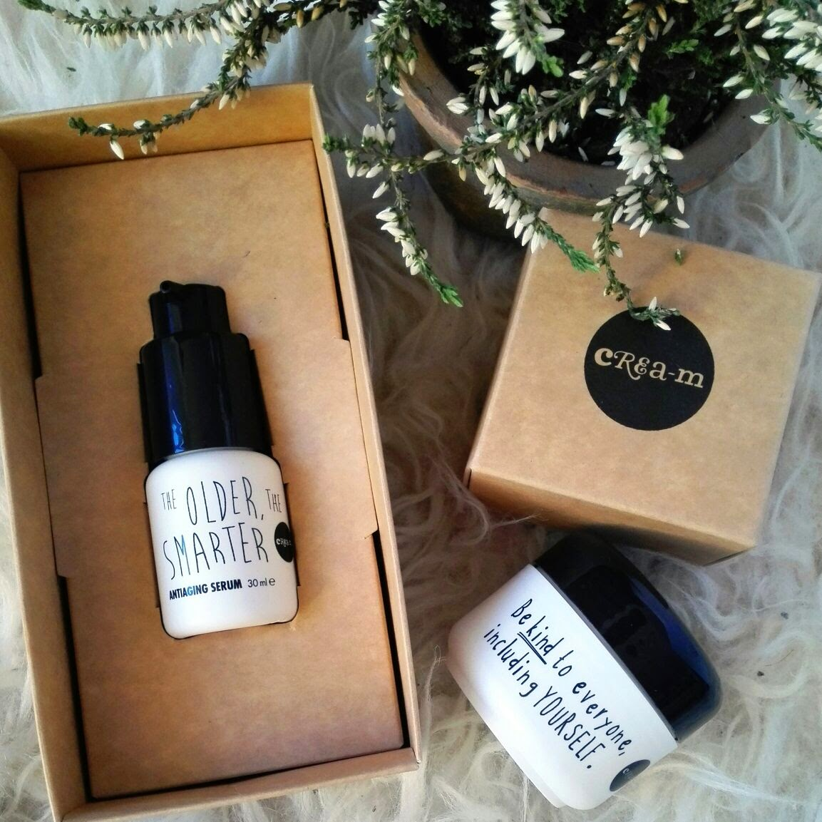 cream cosmetics serum