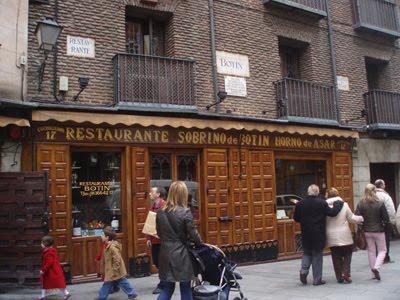 El restaurante BOTÍN es el más antiguo del mundo y está en Madrid