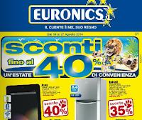 Euronics - Volantino offerte Agosto 2014