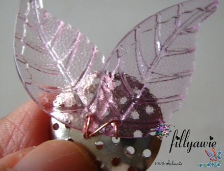 Membuat bros capung terbang (free tutorial how to make dragonfly