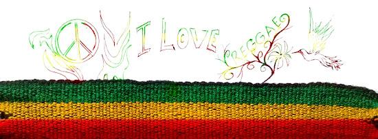 I Love Reggae - Capas para Facebook, Coleção Bob Marley