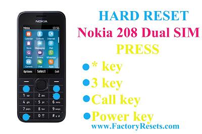 Hard-Reset-Nokia-208-Dual-SIM