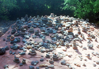 Buddha Beach - Stone Buddhas - Red Rocks State Park, Arizona