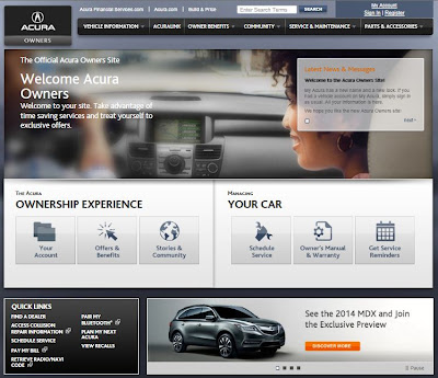 Acura Owners Site