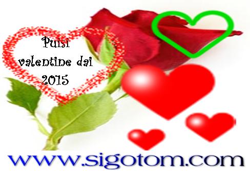 Puisi valentine day/hari kasih sayang 2015