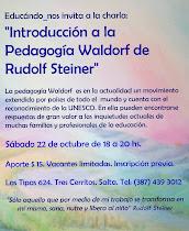 Charla sobre Pedagogía Waldorf