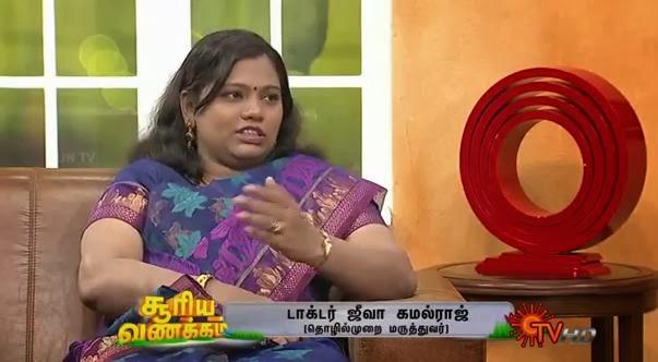 Virundhinar Pakkam – Dr.Jeeva Kamalraj – Sun TV Show 05-11-2013