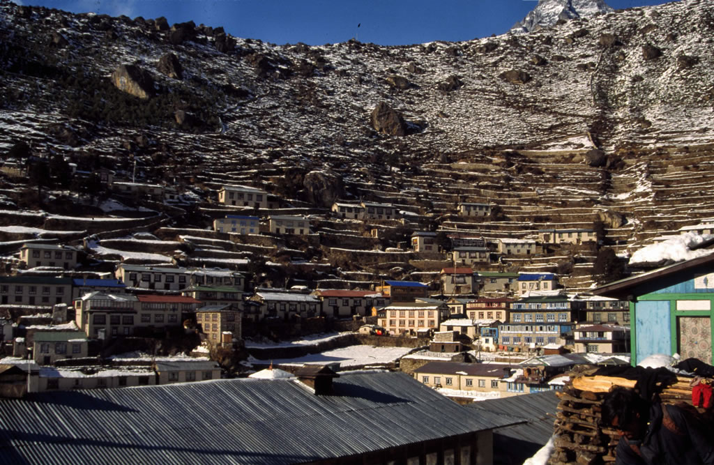 Nepal Namche Bazaar Village on Where Is Kathmandu Nepal Located On The Map