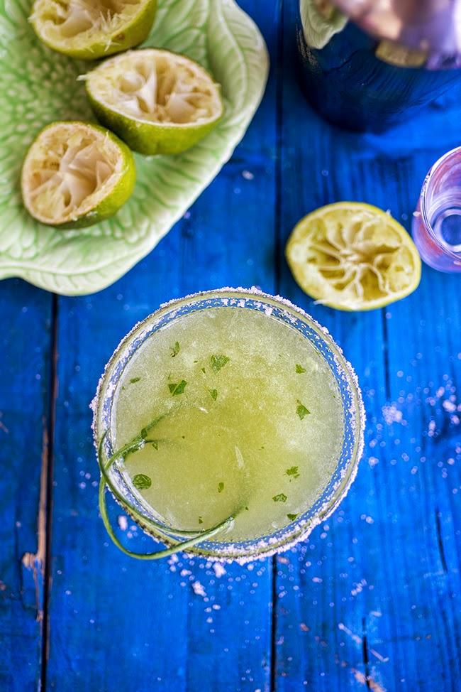 Cocktail Friday: Cucumber Mint Margarita