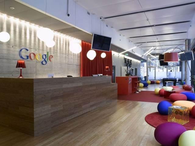 ruang hadapan pejabat google