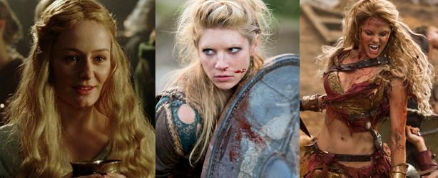 Éowyn, Lagertha, Saxa