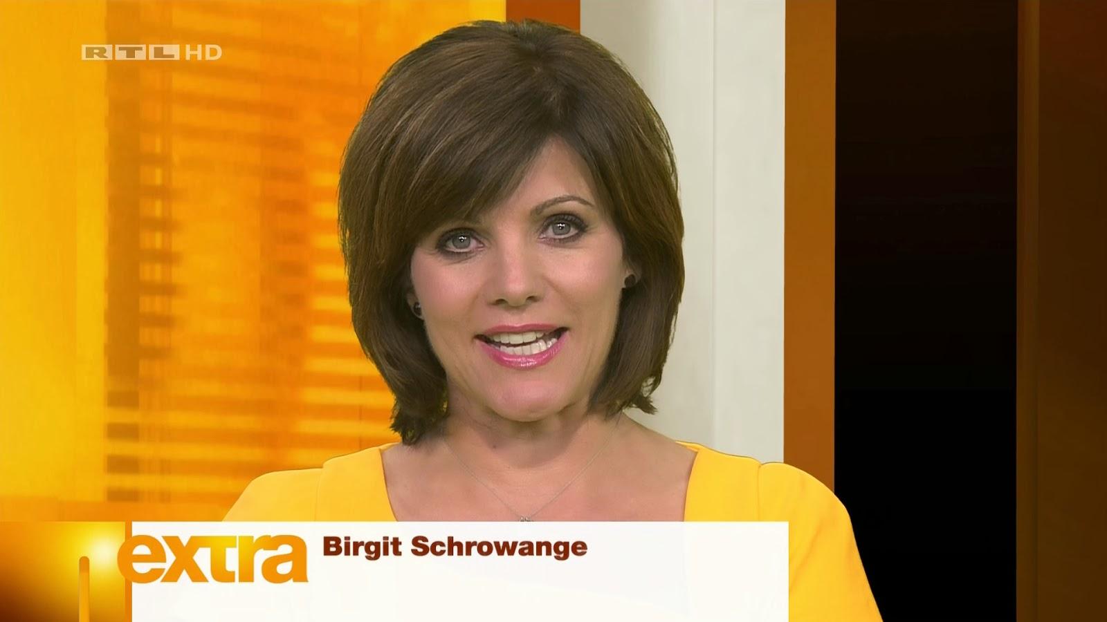 Deutsche TV-Moderatorin Birgit Schrowange feiert ihren 50
