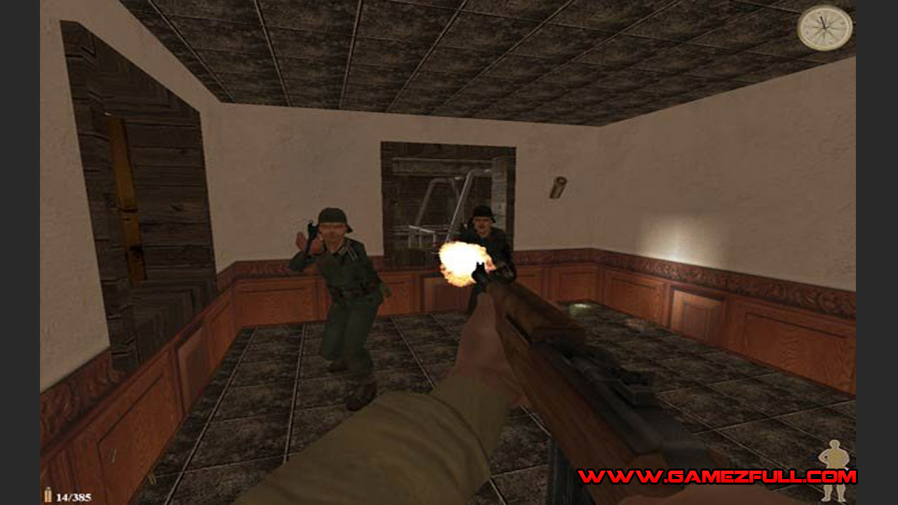 World War II Sniper Call To Victory para pc portable juego poco requisitos