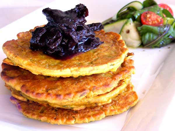 Organic Passion: Spicy Corn Fritters - part of my quick meals series