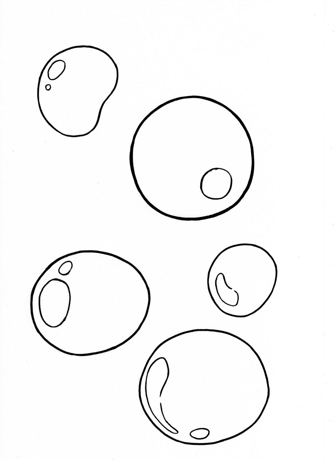 Increíble Carta De Burbujas Para Colorear Friso - Dibujos Para ...