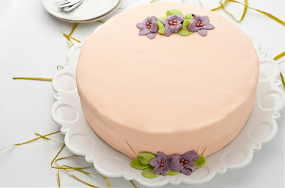 бадемова торта с ром