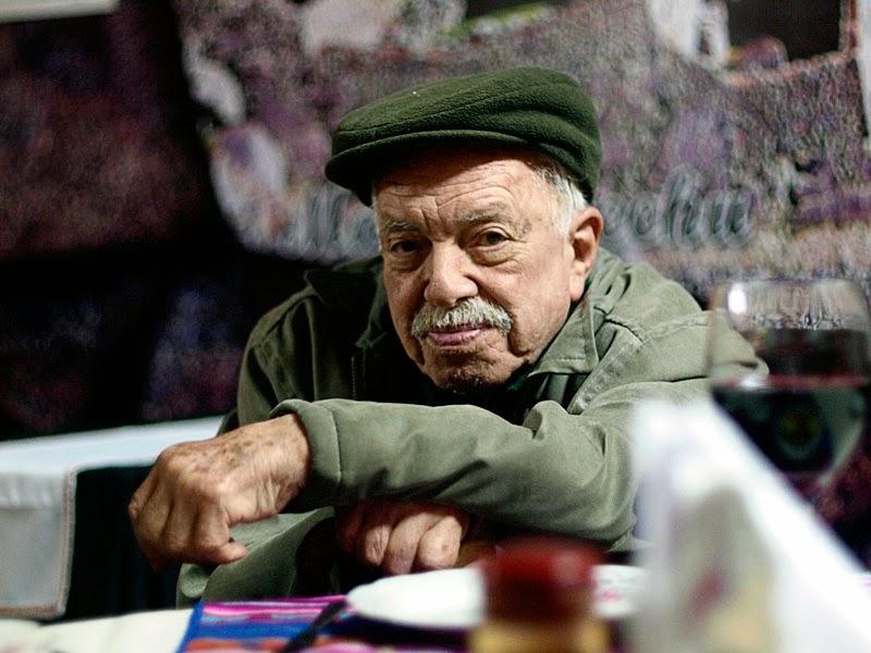 El escultor paraguayo Hermann Guggiari (1924-2012) Foto: Martín Crespo para la revista A la Carta