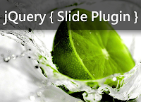 jQuery slide out and in