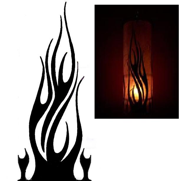 Enrhedando manualidades - Como hacer candelabros ...