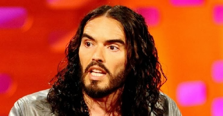 Russell Brand Speaks of Reptilian Overlords, Spiritual Revolution and The Illuminati