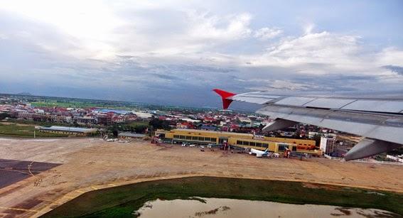 Phnom Penh Airport Arrival