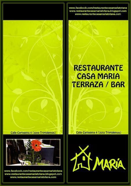 Restaurante casa mar a totana carta bar terraza for Restaurante casa america terraza