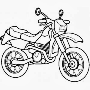 Disegni di moto da colorare for Disegni delle macchine