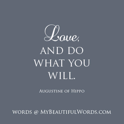 """definition of love by saint augustine Saint augustine on rightly ordered love st augustine by sandro botticelli in his city of god , saint augustine defined virtue as """"rightly ordered love"""" ( city of god, xv23."""