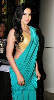 Veena-malik-saree-Rehena-ghai-birthday-bash