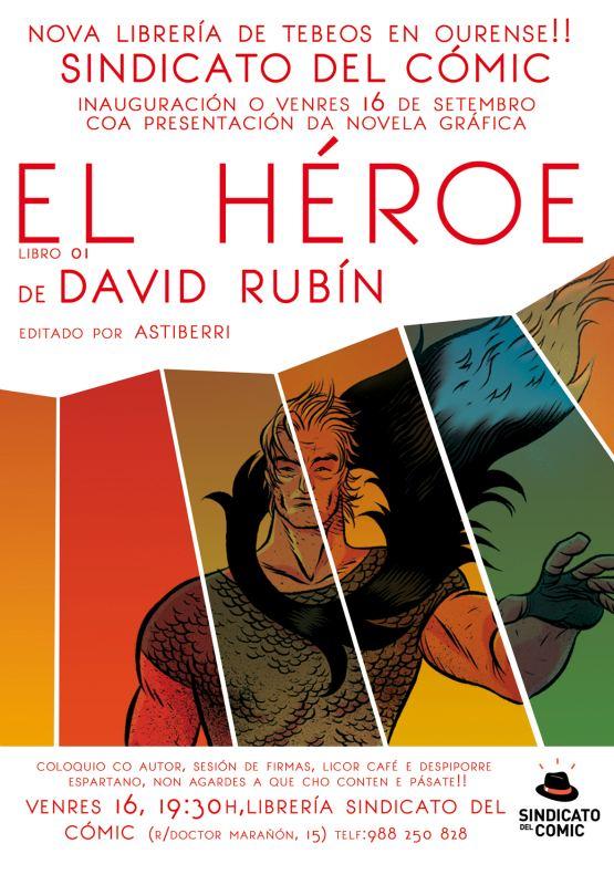 El Héroe - David Rubín - Orense