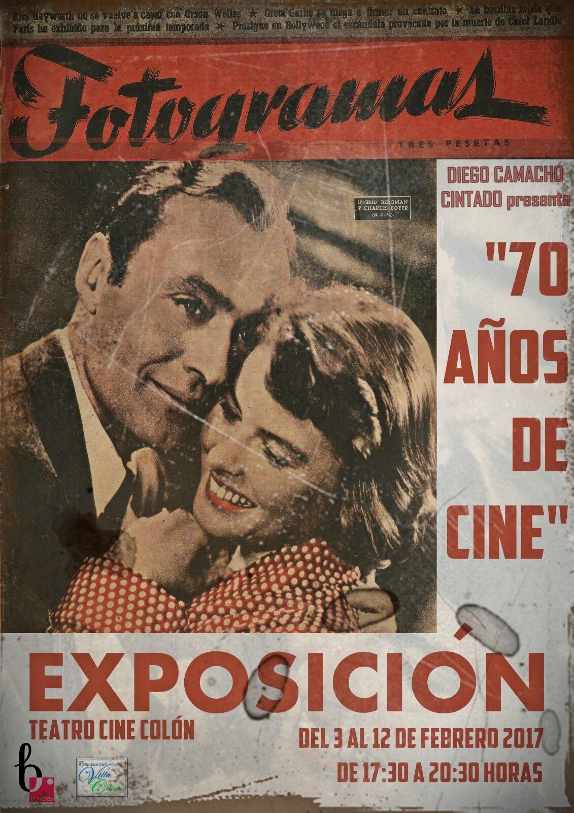 """EXPO """"70 AÑOS DE CINE"""""""