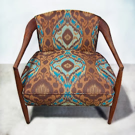 A new creation from Wendy Kaplan, owner of The Chair Affair